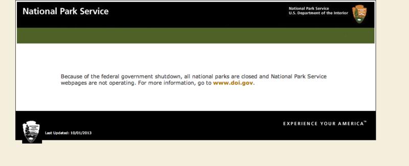 Www.nps.gov:shutdown:index